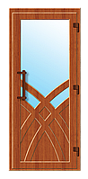 Пластиковые входные двери модель 5