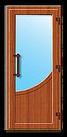 Пластиковые входные двери модель 6