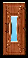Пластиковые входные двери модель 7