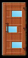 Пластиковые входные двери модель 8