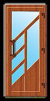 Пластиковые входные двери модель 9