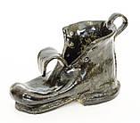 Оригинальная пепельница, шкатулка, предмет для интерьера, старый  Башмак, Германия, Керамика, фото 10