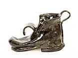 Оригинальная пепельница, шкатулка, предмет для интерьера, старый  Башмак, Германия, Керамика, фото 2