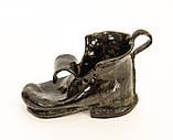Оригинальная пепельница, шкатулка, предмет для интерьера, старый  Башмак, Германия, Керамика, фото 3
