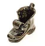 Оригинальная пепельница, шкатулка, предмет для интерьера, старый  Башмак, Германия, Керамика, фото 4