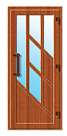 Пластиковые входные двери модель 10
