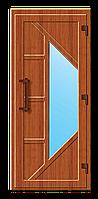 Пластиковые входные двери модель 11