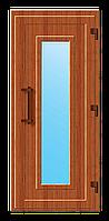 Пластиковые входные двери модель 12