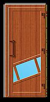 Пластиковые входные двери модель 13