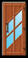 Пластиковые входные двери модель 14