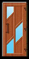 Пластиковые входные двери модель 15