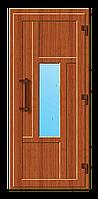 Пластиковые входные двери модель 16