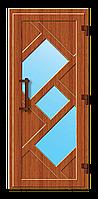 Пластиковые входные двери модель 17