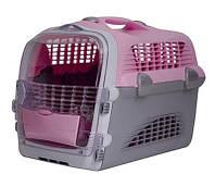 Hagen Catit CABRIO - Кабрио - переноска для кошек и миниатюрных собак(розов./серый)