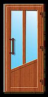 Пластиковые входные двери модель 20