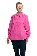 Женская рубашка большого размера Роза