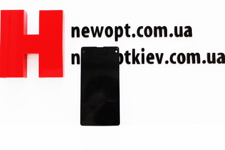 """Дисплей Sony D5503 Xperia Z1 Compact с тачскрином черный Оригинал - Магазин запчастей для смартфонов """"Новый Опт"""" в Киевской области"""