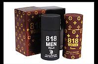 """Набор парфюмерной воды с феромонами """"818 Women Braun"""" и """"818 Men Black"""""""