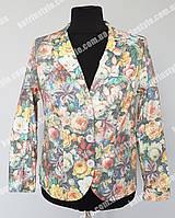 Женский пиджак большого размера, фото 1