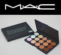 Набор корректоров для лица 15 в 1 MAC