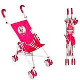 Коляска для куклы МАША И МЕДВЕДЬ (ММ1001), фото 3