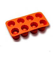 Форма для рюмок из льда mix силикон 20х10х5см Vincent VC 1373 mix