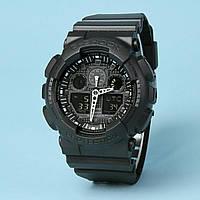 Распродажа! Спортивные часы Casio g-shock Ga-100 All Black ААА