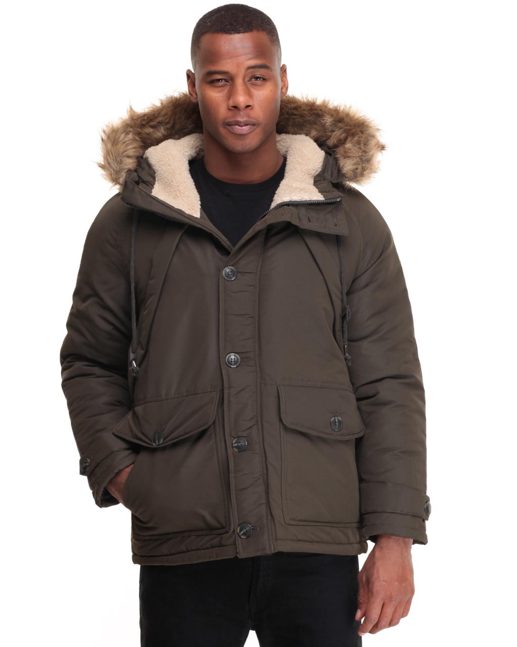 Куртка Steve Madden, XL, Olive, OMA051H, фото 1