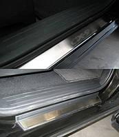 Накладки на пороги Mazda CX-9 2007- 4шт. premium