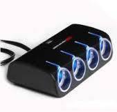 Разветвитель WF-074 для прикуривателя с USB-портам