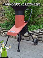 Садовый электрический веткоизмельчитель в металлическом корпусе (из Гемании) б/у. Мощность - 2000Вт., фото 1