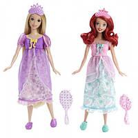 Disney Princess Принцессы Диснея Пижамная вечеринка Рапунцель и Ариэль Royal Slumber Party Rapunzel and Ariel