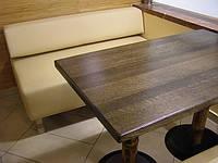 Столешница дубовая. Дубовая столешница 600х600х40 мм.