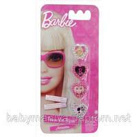 Детский набор колец 4 шт. Barbie