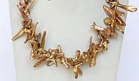 Эксклюзивное Колье из Жемчуга (крестообразный жемчуг)