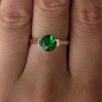 """Серебряное кольцо с золотом """"263"""", фото 1"""