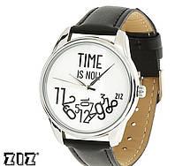 """Прикольные наручные часы """"Время - сейчас"""" ZIZ (Украина)"""