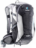 Велорюкзак мужской Deuter Compact EXP 12 black/white (32152 7130)