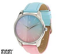 """Прикольные наручные часы """"Розовый кварц и безмятежность"""" ZIZ (Украина)"""