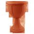 Вазон на ножке для цветов коричневого цвета «Леон» (глубокий) на 6л