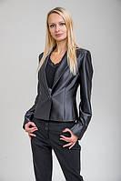 Пиджак ( блейзер)  приталенный из атласа,молодежный жакет больших размеров купить