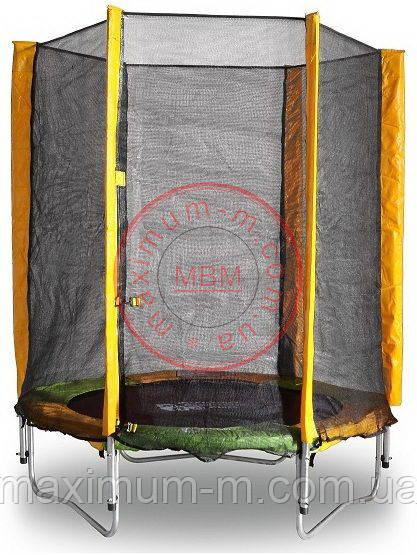купить батут 140 см с защитной сеткой в москве