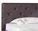 Ліжко двоспальне в спальню з м'якою спинкою Софія Melbi, фото 2