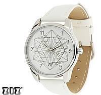 """Прикольные наручные часы """"Геометрия"""" ZIZ (Украина)"""