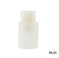 Маленькая пластиковая бутылка с помпой (для ацетона и др. жидкостей)  Lady Victory LDV PA-01 /77-0