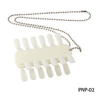 Двойная палитра для лаков, гелей (на 24 оттенка) Lady Victory LDV PNP-02 /95-0