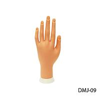 Искусственная кисть руки для обучения маникюра, дизайна ногтей Lady Victory LDV DMJ-09 /99-3