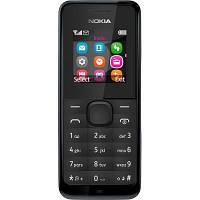 Nokia 105 Dual Sim Black (A00025708)