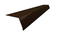 Карнизная планка 2м  (красная,зеленая,коричневая)