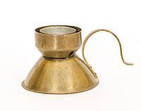 Подсвечник для чайной свечи, латунь, Германия, фото 1